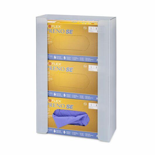 FlexiStore Open Flex Fill Glove Dispenser 3 Box Ice Gray