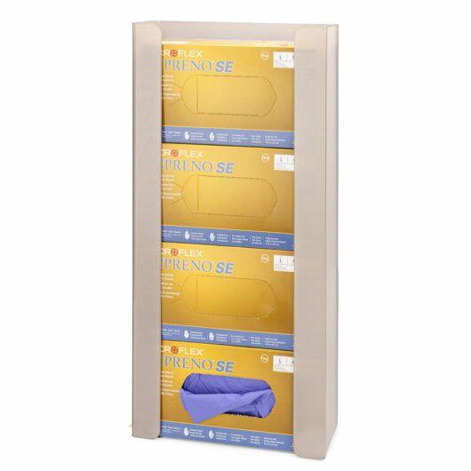 FlexiStore Open Flex Fill Glove Dispenser 4 Box Sand